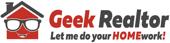 Justin Bock Geek Realtor Cary Homes Real Estate Logo