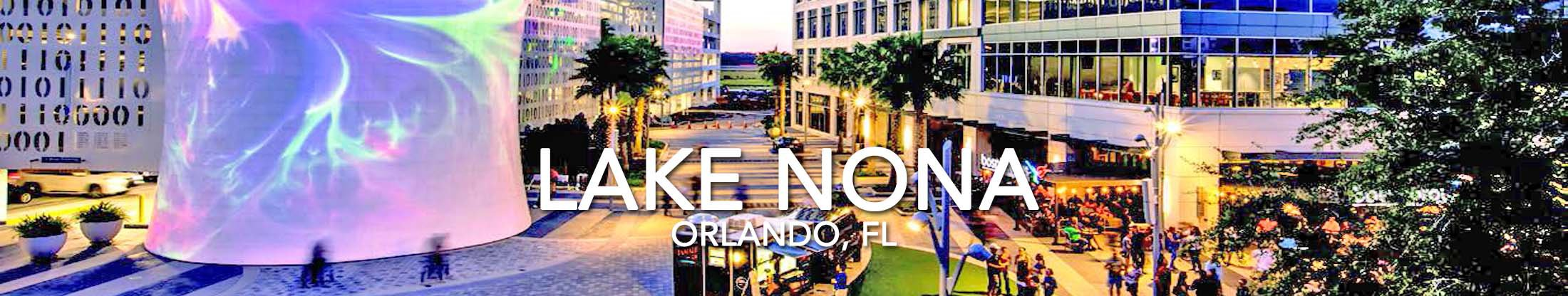 About Lake Nona Orlando Florida